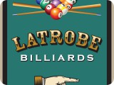 Latrobe Billards sign